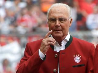 Beckenbauer chodil namiesto výpovedí na futbal. FIFA ukončila vyšetrovanie