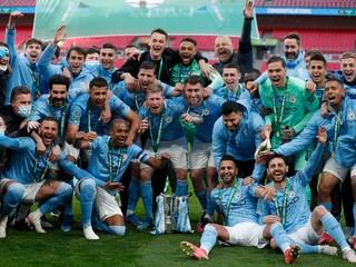 Manchester City má prvú trofej v sezóne, na Wembley zdolal Tottenham