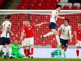Poliaci siahali aj bez Lewandowského na bod proti Anglicku. Veľké víťazstvo, vraví Maguire