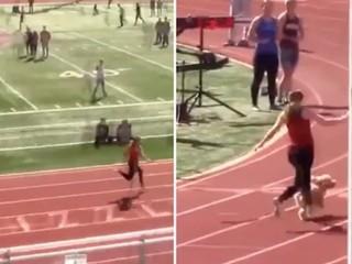 Takmer prekonal svetový rekord Bolta. Bežecké preteky narušil pes