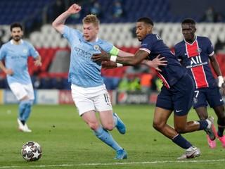 ONLINE: PSG - Manchester City (Liga majstrov, dnes)
