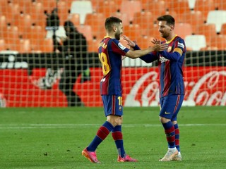 Barcelona otočila zápas, Messi pekne skóroval z priameho kopu