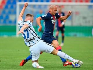 Inter má titul na dosah, Škriniar dostal vysokú známku
