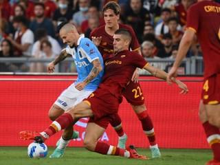Hamšíkov Trabzonspor nestačil na AS Rím, Lincoln Red Imps píše históriu svojej krajiny