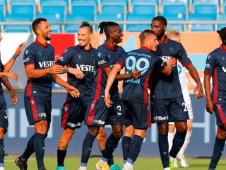 Trabzonspor s Hamšíkom vybojoval tesné víťazstvo, Sabo hral len polčas
