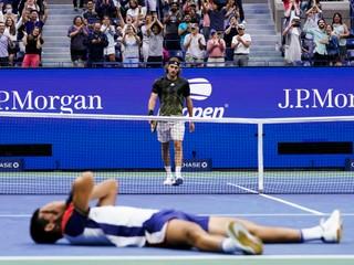 Dostal kanára, potom vyradil favorita. Alcaraz sa postaral o senzáciu na US Open