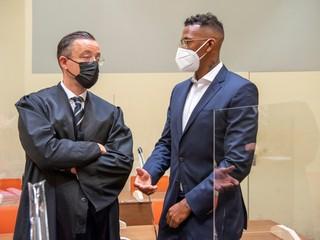 Jerome Boateng vypovedá na súde. Ako vysvetľuje údajné napadnutie expartnerky?