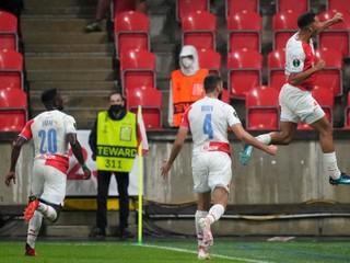 Skórovali Schranz aj Čmelík. Slavia strelila 5 gólov za 21 minút