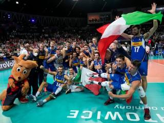 Taliani majú titul. V dramatickom finále ME vo volejbale zdolali Slovincov
