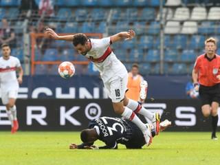 Stuttgart nedal nováčikovi ani gól, ten ukončil sériu prehier