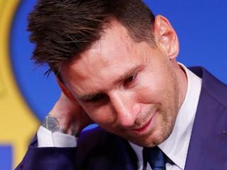 Bola to chyba? Messi komentoval svoj prestup z Barcelony do PSG