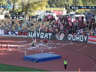 Dukla víťazne pokrstila nový štadión, slovanisti ale favorita potrápili