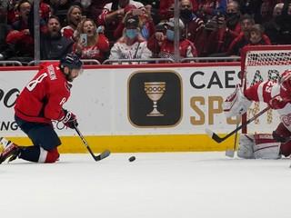 Fantastický Ovečkin dorovnal legendu, po ktorej v NHL pomenovali trofej