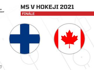 Fínsko - Kanada: ONLINE z finále na MS v hokeji 2021