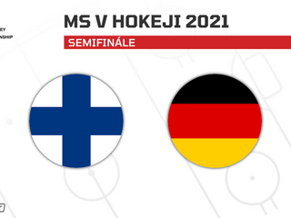 Fínsko - Nemecko: ONLINE zo semifinále MS v hokeji 2021
