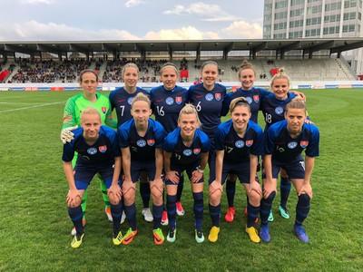 3dcf99d695b79 SR WA - Slovenské futbalistky predviedli skvelý výkon, no Švajčiarkam  stačil jeden gól