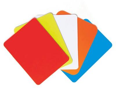 Rozhodcovská karta žltá