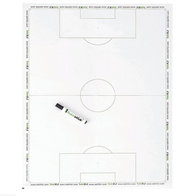 Taktická tabuľa na futbal - 60x80 cm