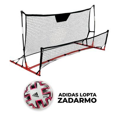 Nastrelovacia stena PRO 120x200cm + lopta adidas