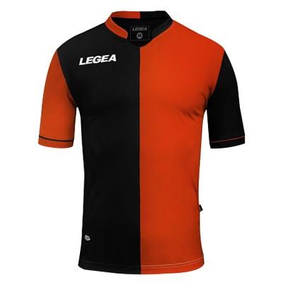 LEGEA dres krátky MARBELLA čierna oranžová