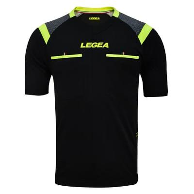 LEGEA rozhodcovský dres krátky PIREO čierna