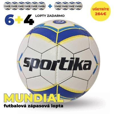 Zápasové lopty MUNDIAL 6+4 zadarmo