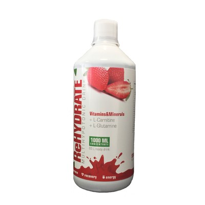 Iontový nápoj JAHODA 1000 ml