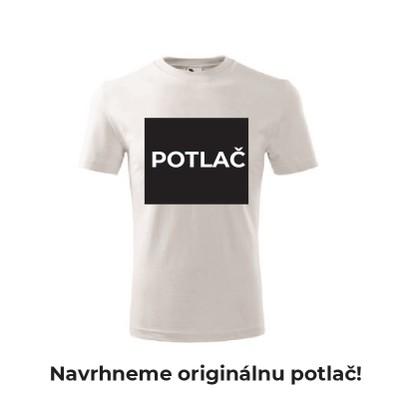 Pánske tričko s originálnou POTLAČOU