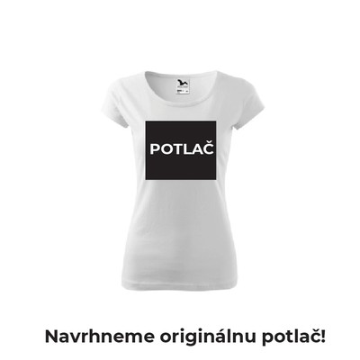 Dámske tričko s originálnou POTLAČOU
