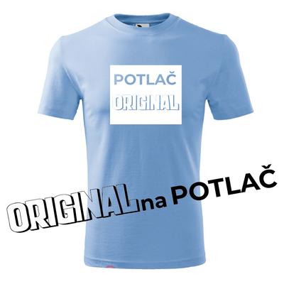 Potlač ORIGINAL pre pánske tričko