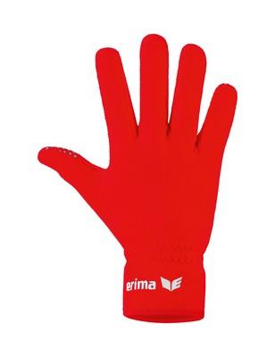 ERIMA Zimné hráčske rukavice červená