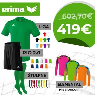 ERIMA dres krátky LIGA junior - sada 15+2