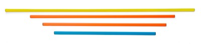 Gymnastická tyč 100 cm