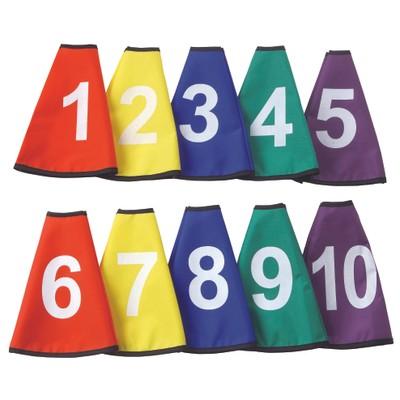 Označovacie návleky na kužele s číslami 1-10