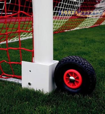Pomocné kolesá  na prenosné futbalové  brány
