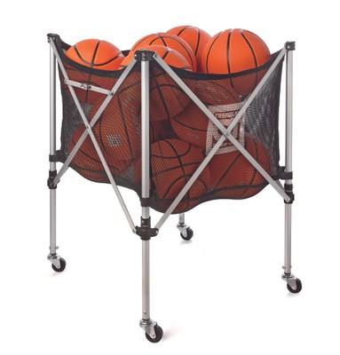 Stojan na basketbalové lopty