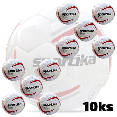 Futbalová lopta SPORTIKA LILT 10ks