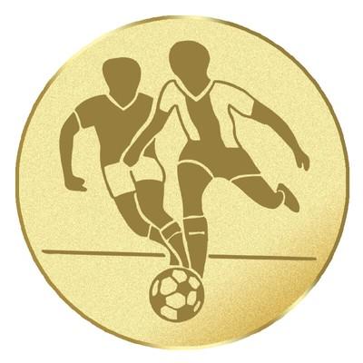 Emblém futbal na pohár a medailu