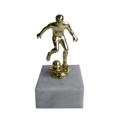 Figúrka hráča FUTBALISTA zlatá 13 cm