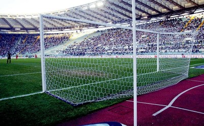 Futbalová  hliníková brána pevná senior  7,32 x 2,44m