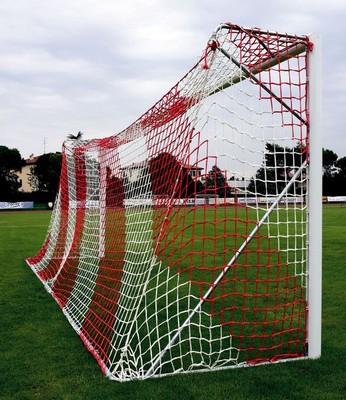 Futbalová hliníková brána prenosná junior  5x2 m