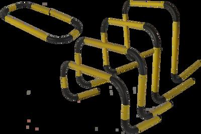 Samozdvíhacia prekážka 30 - 60 cm