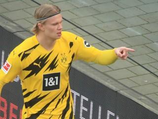 Zmení Haaland klub? Pre Dortmund bude ťažké ho udržať, vraví jeho agent