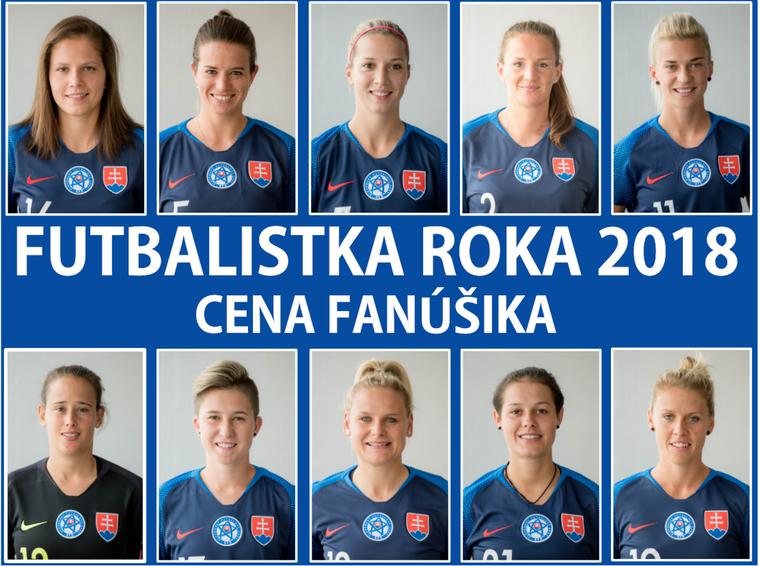 66a60ceb86169 BRATISLAVA (SFZ) – Odborníci a tréneri vybrali desať najlepších, Cenu  fanúšika môžete určiť vy. Anketa Futbalistka roka 2018 spozná svoju víťazku  na ...