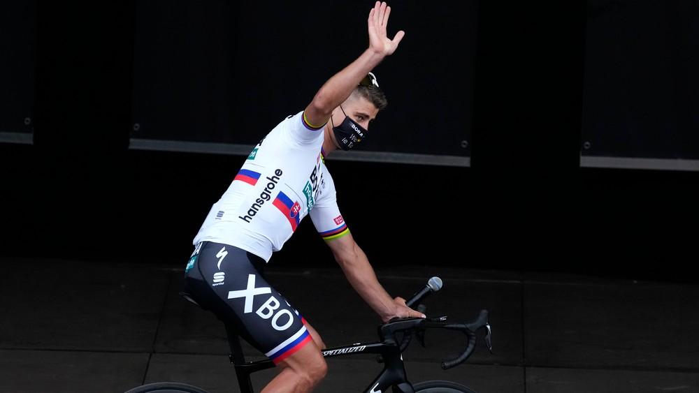 Sagan prinesie aj sponzora, nový tím ho privítal v slovenčine