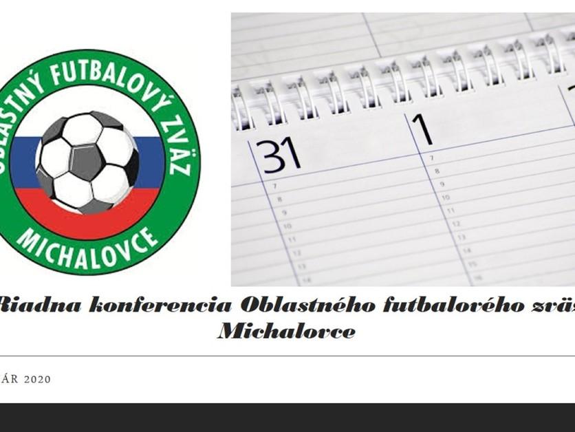 """Zápis zo 7. zasadnutia riadnej """"Konferencie ObFZ Michalovce"""" z 9.7.2021"""