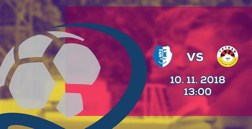 LIVE: 2. LIGA: 10. NOVEMBRA 2018, 13:00 FC ŠTK FLUMINENSE ŠAMORÍN – MFK TATRAN LIPTOVSKÝ MIKULÁŠ