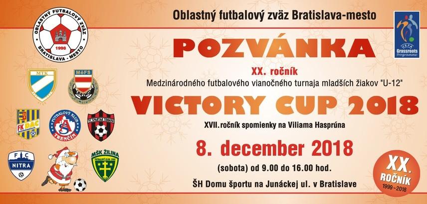 Pozvánka na Victory Cup