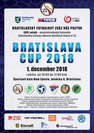 BRATISLAVA CUP 2018 ovládol výber Belehradu, výber BFZ skončil tretí