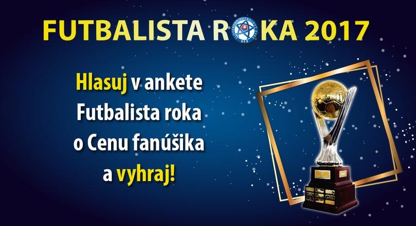 "Cena fanúšika ""Futbalista roka 2017"""